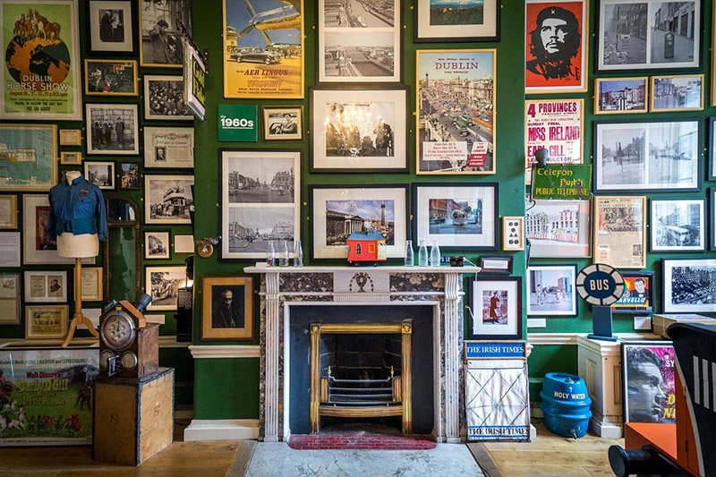 interior pic of little museum of dublin